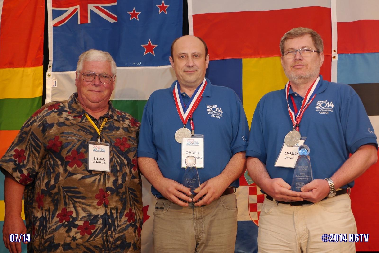 Silver Medal Winners