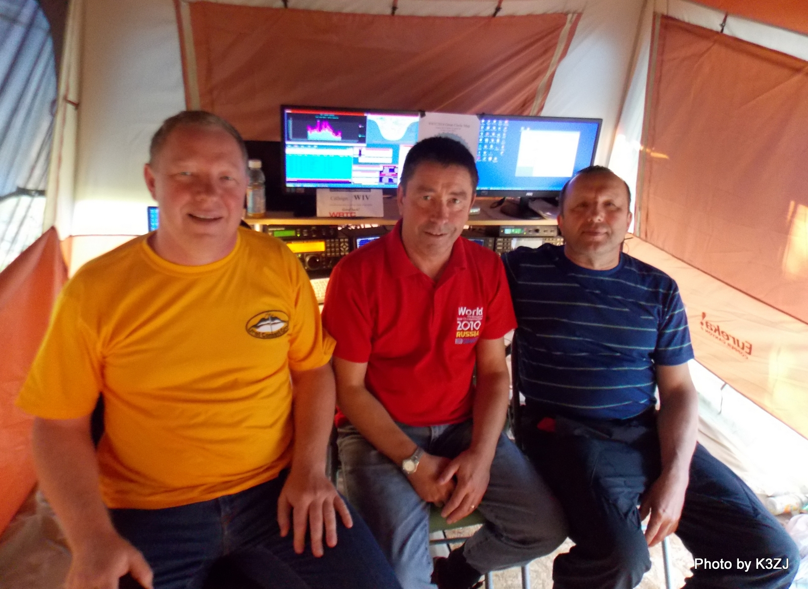 R9DX, GM4AFF & UA9CDV at the Conclusion of WRTC2014 at W1V (5).JPG
